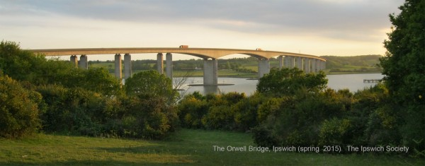 Ipswich Society Orwell Bridge 2015